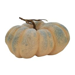 """11"""" Patchy Slate Blue Pumpkin by Ashland® 