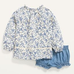 Long-Sleeve Smocked Top and Bloomers Set for Baby   Old Navy (US)