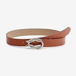 Interlocking Snake Buckle Belt | Express
