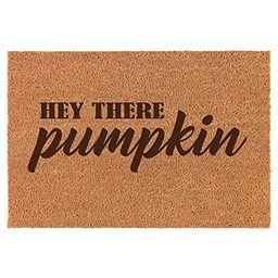 Coir Door Mat Doormat Hey There Pumpkin | Walmart (US)