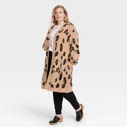 Women's Long Sleeve Cardigan - Knox Rose™ Leopard Print   Target