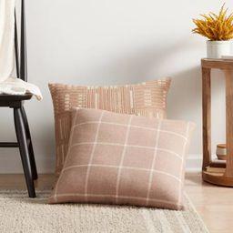 Windowpane Plaid Throw Pillow - Threshold™ | Target
