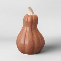 Medium Ceramic Pumpkin/Gourd Orange - Threshold™ | Target