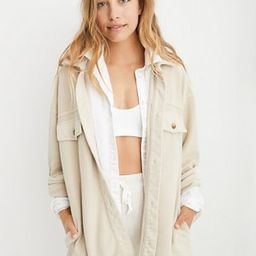 Aerie Luxe Trucker Jacket | American Eagle Outfitters (US & CA)