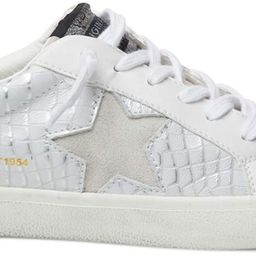 VINTAGE HAVANA Womens Edge Croc Lace Up Sneakers Shoes Casual - Grey | Amazon (US)