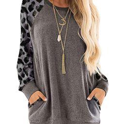 New Plus Size Women Long Sleeve Winter Casual Jumper Pullover Sweatshirt Tops Ladies Round Neck L...   Walmart (US)