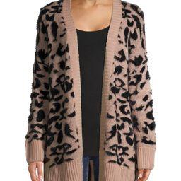 Dreamers by Debut Women's Leopard Print Cardigan   Walmart (US)