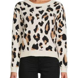 Dreamers by Debut Women's Soft Leopard Pullover   Walmart (US)