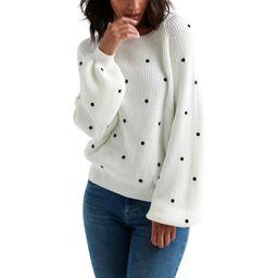 Lucky Brand Womens Knit Polka Dot Pullover Sweater   Walmart (US)