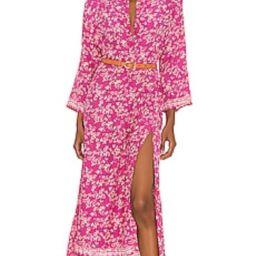 Natalie Martin Isobel Dress in Bamboo Punch from Revolve.com | Revolve Clothing (Global)