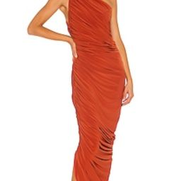 Norma Kamali Diana Gown in Cinnamon from Revolve.com   Revolve Clothing (Global)