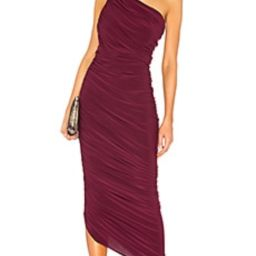 Norma Kamali Diana Gown in Plum from Revolve.com   Revolve Clothing (Global)