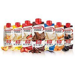 Premier Protein High Protein Shakes Variety Pack (Chocolate, Vanilla, Strawberry & Cream, Bananas &  | Walmart (US)