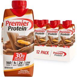 Premier Protein Shake, Chocolate Peanut Butter, 30g Protein, 11 Fl Oz, 12 Ct | Walmart (US)