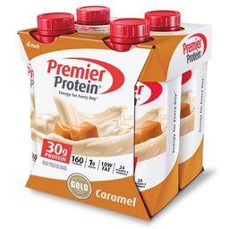 Premier Protein Shake, Caramel, 30g Protein, 11 Fl Oz, 4 Ct | Walmart (US)