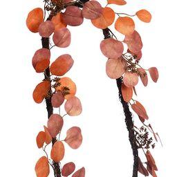 6ft. Orange Round Eucalyptus Leaf Garland by Ashland® | Michaels Stores