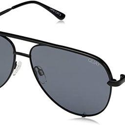 Quay Australia HIGH KEY Men's and Women's Sunglasses Classic Oversized Aviator | Amazon (US)