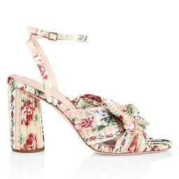 Camellia Knotted Floral Sandals | Saks Fifth Avenue