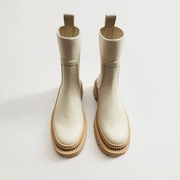 Track outsole boots -  Women | Mango USA | MANGO (US)