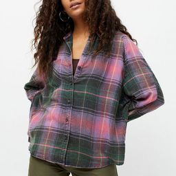 BDG Keanu Flannel Button-Down Shirt   Urban Outfitters (US and RoW)