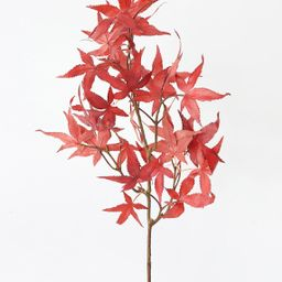 """Fall Red Orange Artificial Japanese Maple Leaves - 27""""   Afloral (US)"""