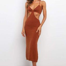 Hailey Dress - Rust | Petal & Pup (US)