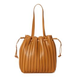Time & Tru Women's Pleated Bucket Handbag | Walmart (US)