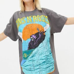 Guns N' Roses Surf T-Shirt Dress   Urban Outfitters (US and RoW)