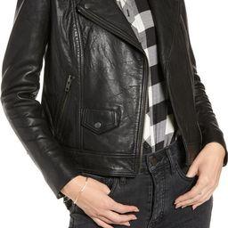 Leather Jacket, Leather Jackets, Genuine Leather Jacket, Leather Moto Jacket | Nordstrom