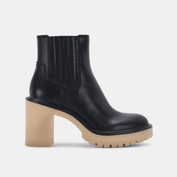 CASTER H2O BOOTIES IN BLACK LEATHER | DolceVita.com