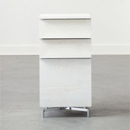 Oracle Bleached Ash Modular File Cabinet | CB2 | CB2