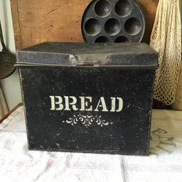 Primitive Metal Bread Box   Etsy (US)