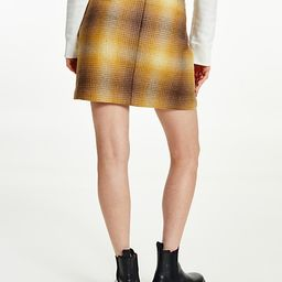 Recycled Shadow Check Mini Skirt | Tommy Hilfiger (US)