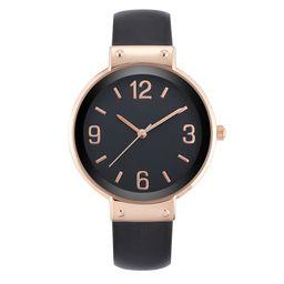 Time and Tru - Time & Tru Women's Black Strap Watch - Walmart.com | Walmart (US)