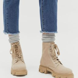 UO Nina Combat Boot | Urban Outfitters (US and RoW)
