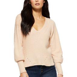 Sofia Jeans by Sofia Vergara - Sofia Jeans by Sofia Vergara Women's Sweater with Blouson Sleeve... | Walmart (US)