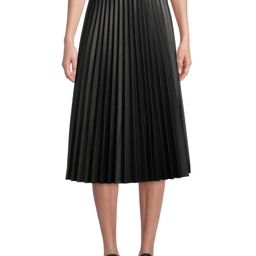 Time and Tru - Time and Tru Women's Faux Leather Skirt | Black - Walmart.com | Walmart (US)