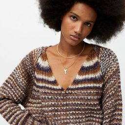 UO Levy V-Neck Sweater | Urban Outfitters (US and RoW)