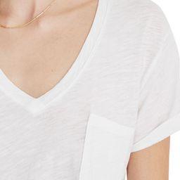 Whisper Cotton V-Neck Pocket Tee | Nordstrom