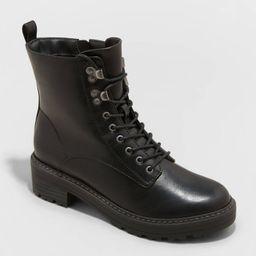 Women's Marta Combat Boots - Universal Thread™ | Target