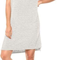 Daily Ritual Women's Jersey Short-Sleeve Boxy Pocket T-Shirt Dress | Amazon (US)