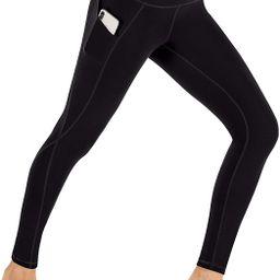 Ewedoos Leggings with Pockets for Women High Waisted Yoga Pants for Women with Pockets Soft Worko...   Amazon (US)