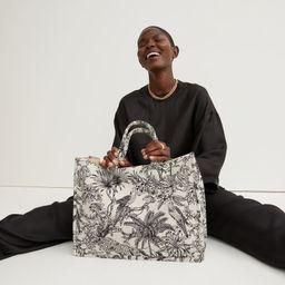 Jacquard-weave Handbag | H&M (US)