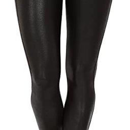 SPANX Women's Faux Leather Leggings | Amazon (US)