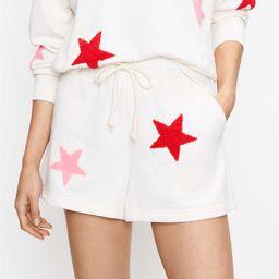 Lou & Grey Star Cozy Cotton Terry Shorts   LOFT