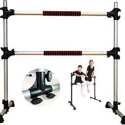 PreGymnastic Updated 4ft Adjustable & Portable Freestanding Ballet Barre with Carrying Bag for Da... | Amazon (US)
