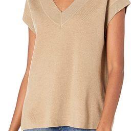 The Drop Women's Zhen V-Neck Sweater Vest | Amazon (US)