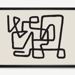 HomeAccessoiresWandbilderAbstract Knot gerahmter Kunstdruck (A1) | MADE.com (DE & AT)