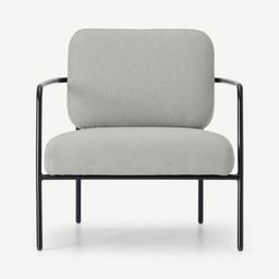 HomeSesselOhrensesselHopper Sessel, Hagelgrau und Marlgrau | MADE.com (DE & AT)