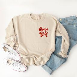 Spice Girl Sweatshirt Pumpkin Spice Sweatshirt Pumpkin   Etsy   Etsy (US)